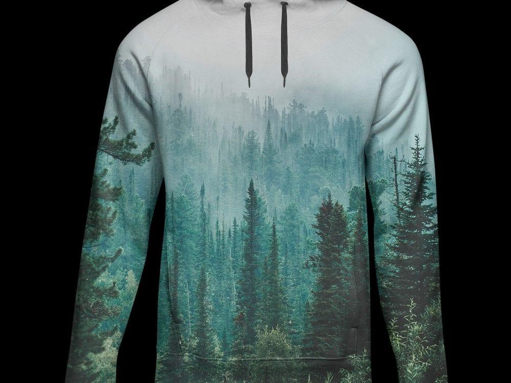 free hoodie sweatshirt mockup