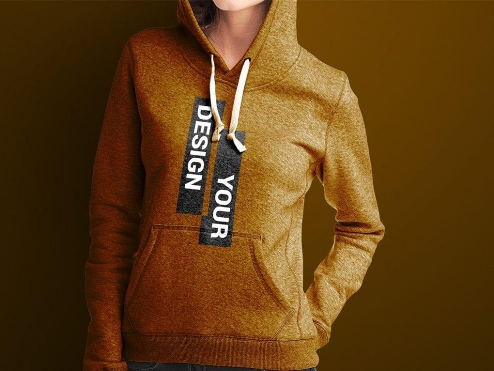 hoodie mockup psd template