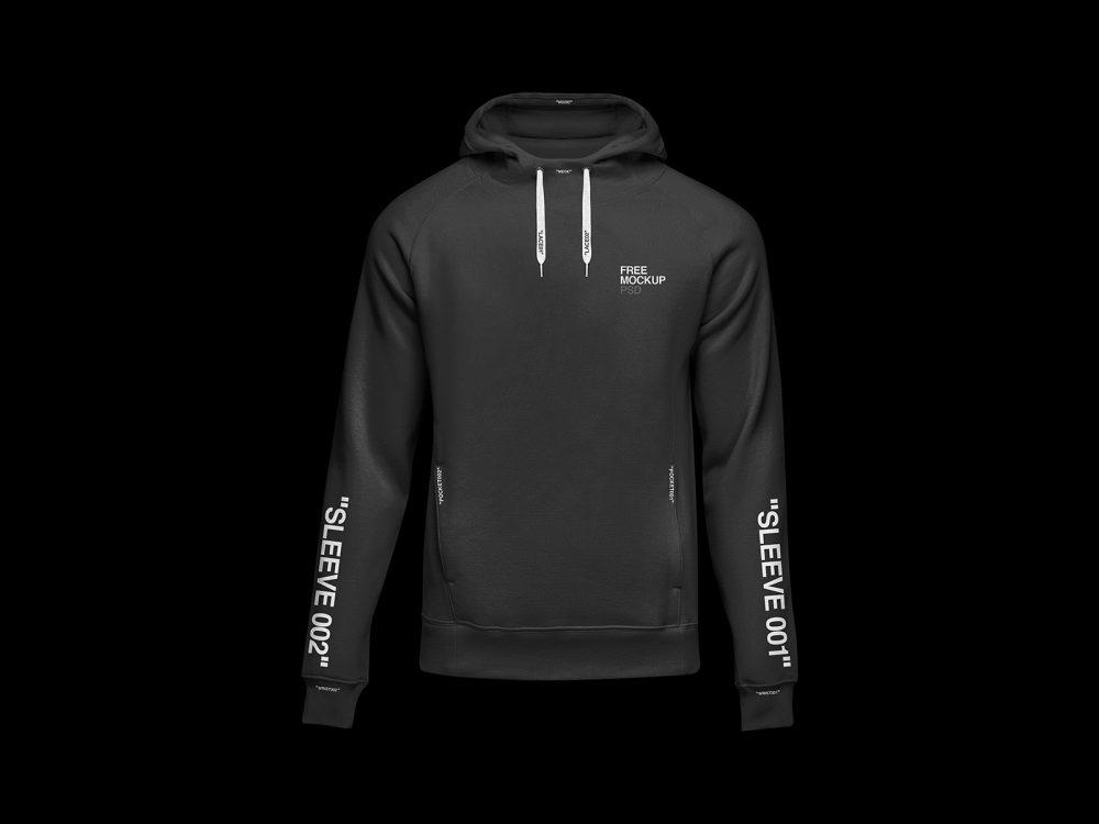 free hoodie sweatshirt free mockup