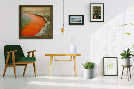 free picture frames in living room mockup