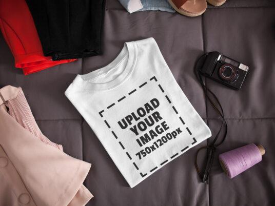 free t-shirt mockup generator