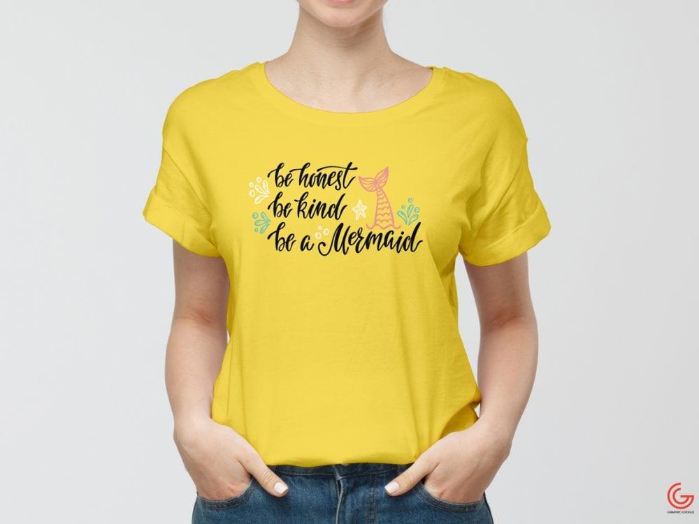modern t-shirt mockup psd template