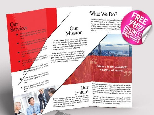Business Brochure Free Mockup