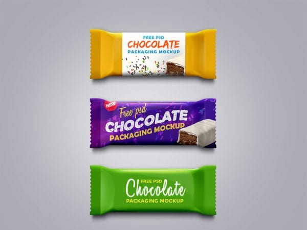 Chocolate Free Mockup