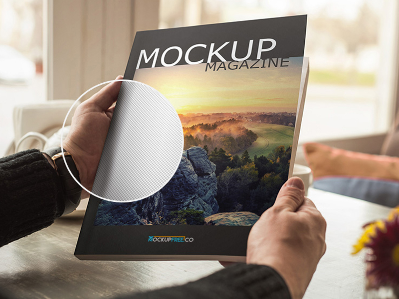 Magazine Huge Pack Free Mockup