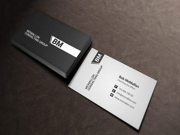 PSD Business Card Free Mockup