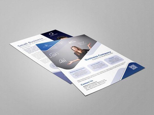 PSD Flyer Free Mockup
