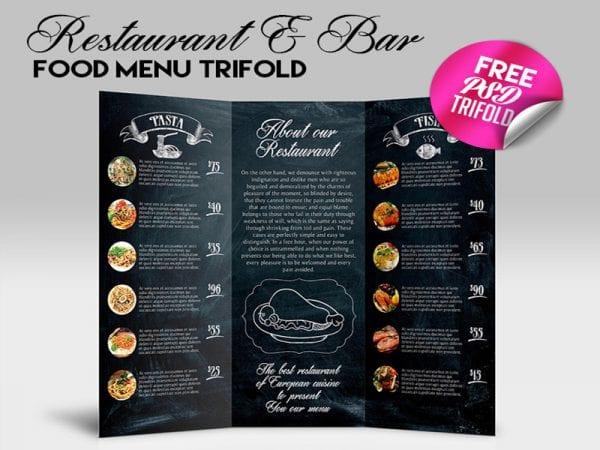 Restaurant & Bar Free Mockup