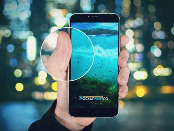 Android Phone Free Mockup