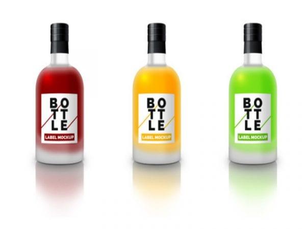 Bottle Label Free Mockup