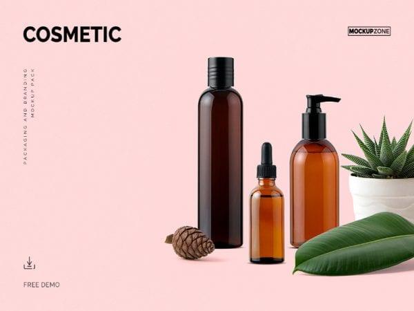 Cosmetic Free Mockup