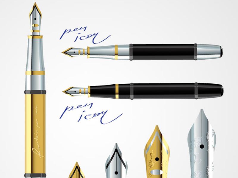 Pen Vector Free Mockup