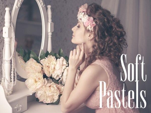 Soft Pastels Lightroom Presets Free Mockup