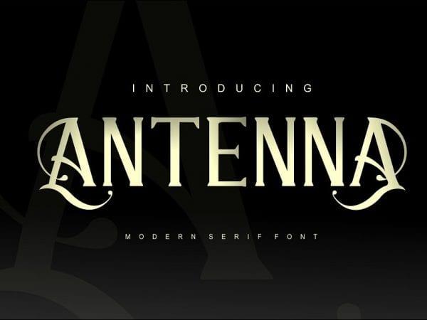 Antenna Classic Serif Typefaces