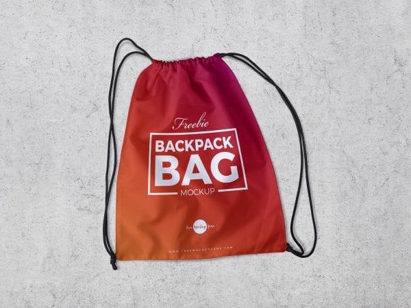 Backpack Bag PSD Mockup Template
