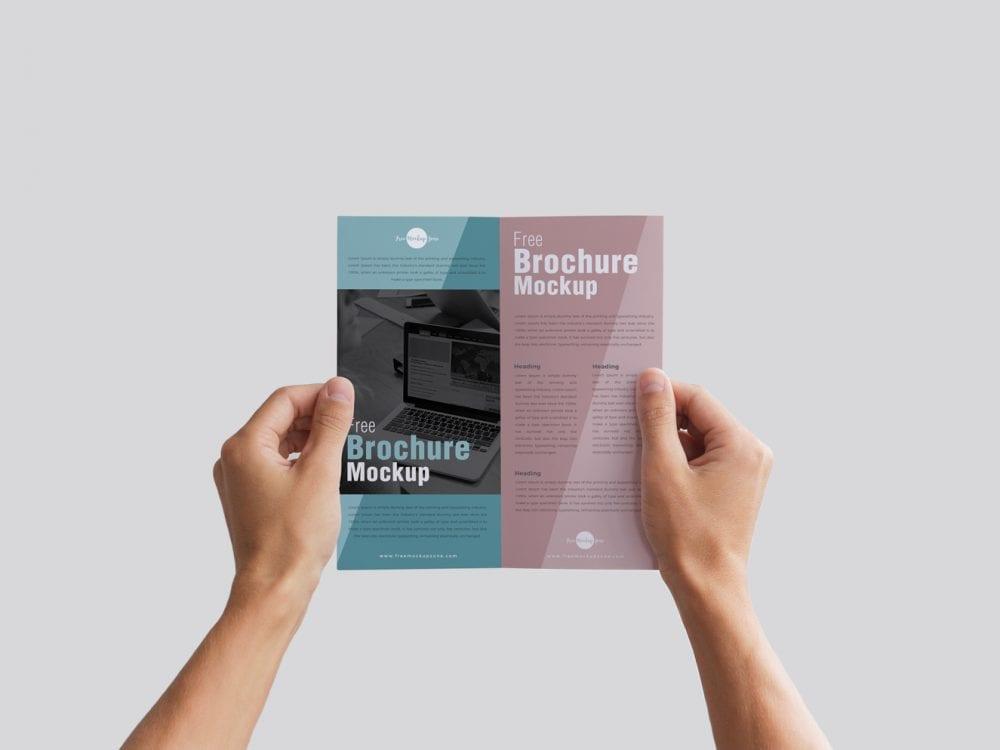 Brochure Mockup PSD Free Template