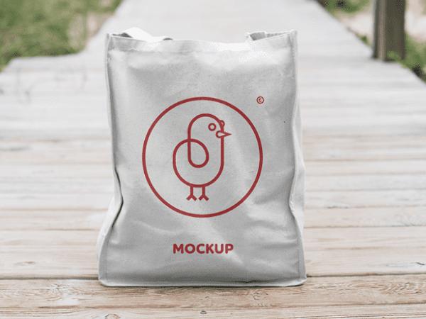 Canvas Bag Mockup PSD Template