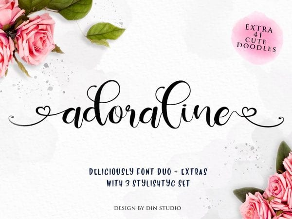 Deliciously Gorgeous Script Font 1