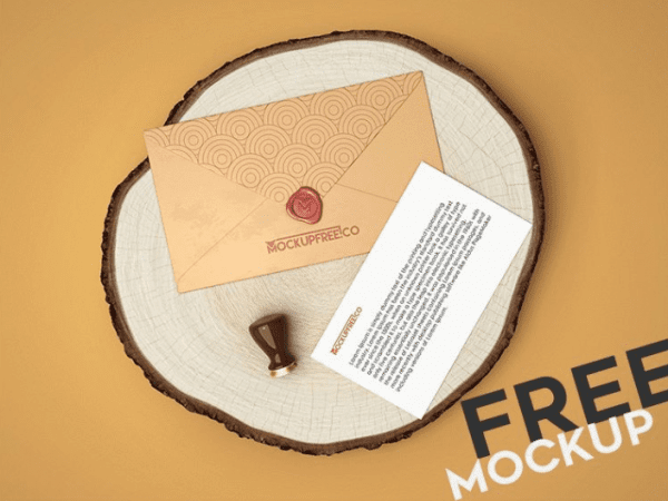 Envelope MockUp PSD Free Template