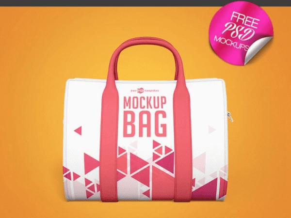 Free Bag PSD Mockup Template