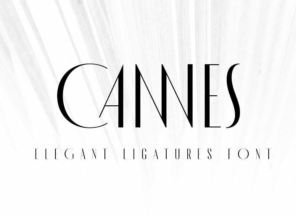 made cannes free elegant fonts