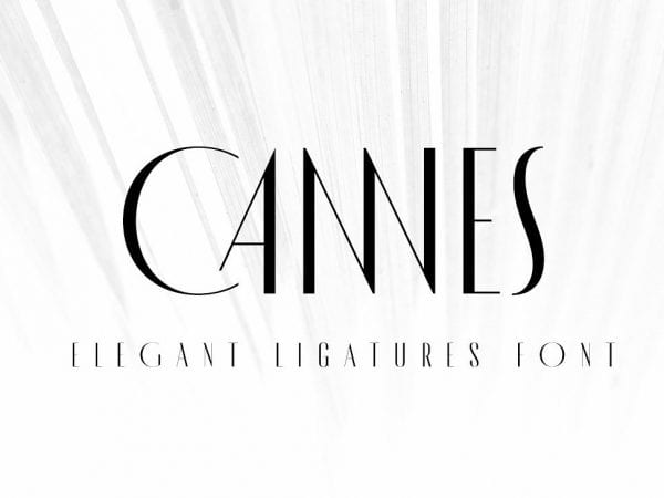 MADE Cannes Free Elegant Fonts