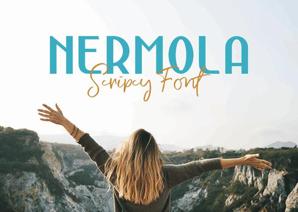 Nermola Free Beautiful Script Fonts