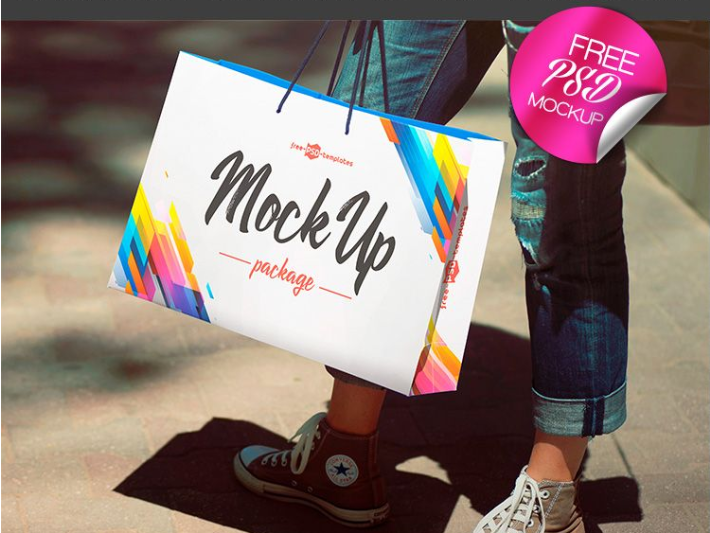 Package PSD Mockup Template