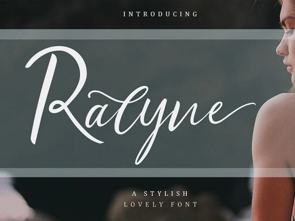 Ralyne Handwritten Calligraphy Script Font