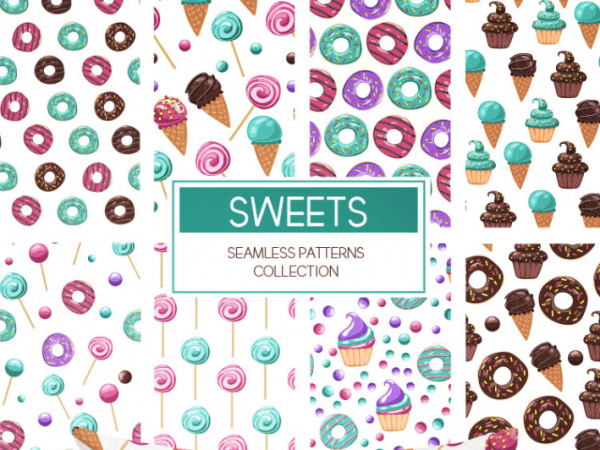 Collection Of Free Seamless Patterns