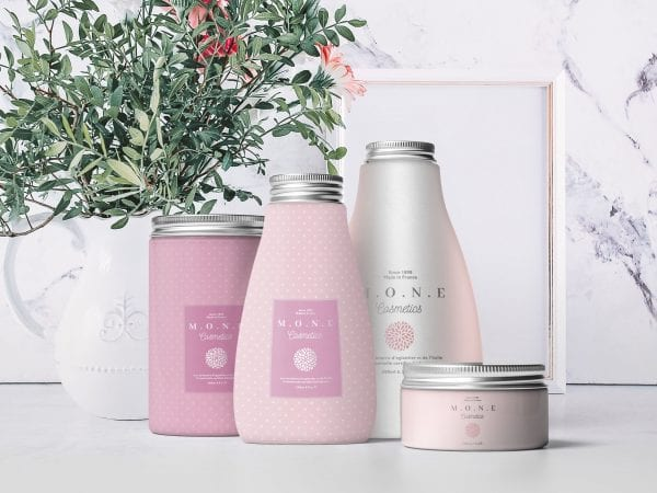 Cosmetic Packaging Mockup PSD Template