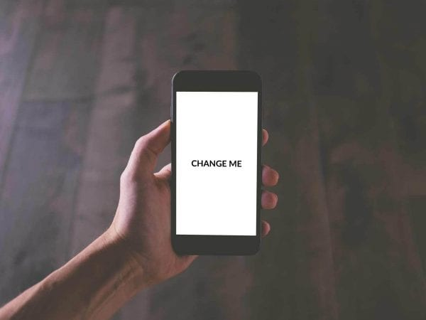 Generic Phone Mockup PSD Template