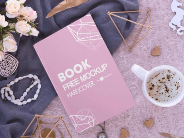 Hardcover Book Mockup PSD Template