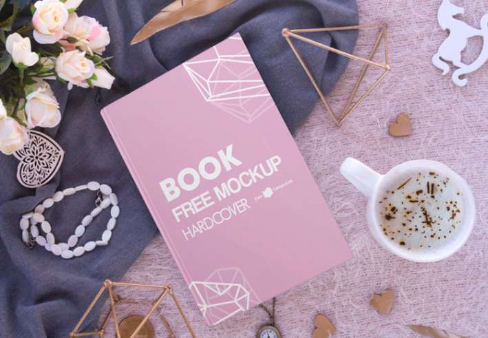 Hardcover Book Mockup Psd Template Mockup Free Downloads