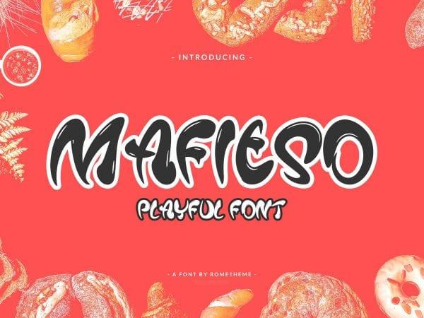 Mafieso Free Playful Font