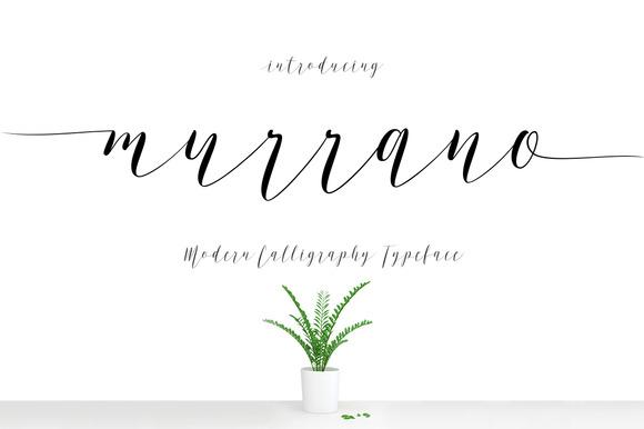 Murrano Free Signature Script Font
