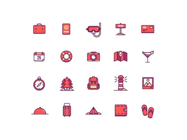 Pack Of Free Holiday Icons
