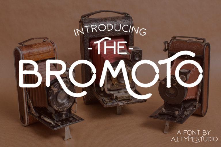 Bromoto Free Unique Fonts