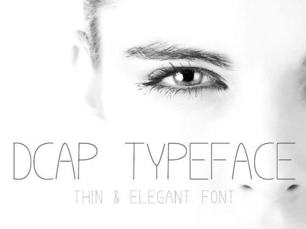 Dcap Free Elegant Fonts