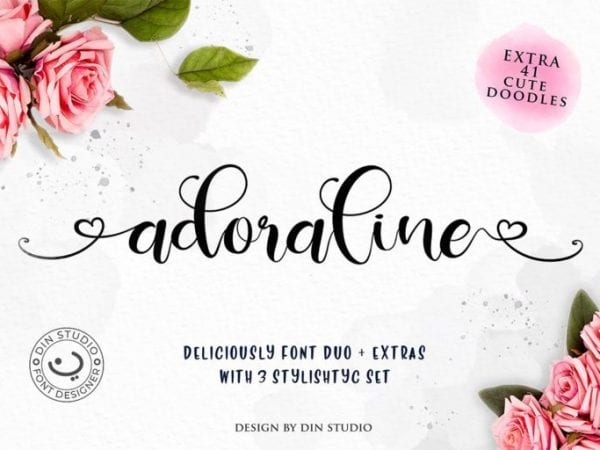 Deliciously Brush Script Typeface