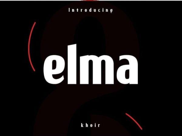 Elma Sans Serif Typeface