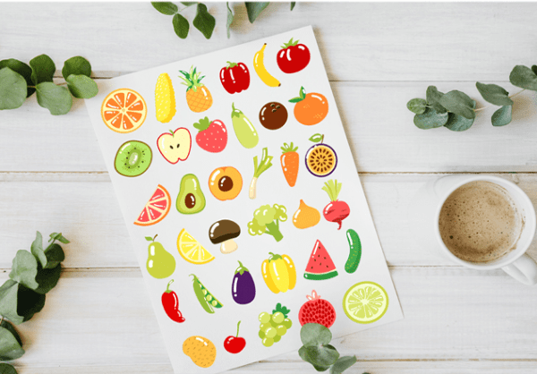 Free Fruit & Vegetable Vector Elements