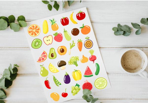 Free Fruit & Vegetable Vector Elements