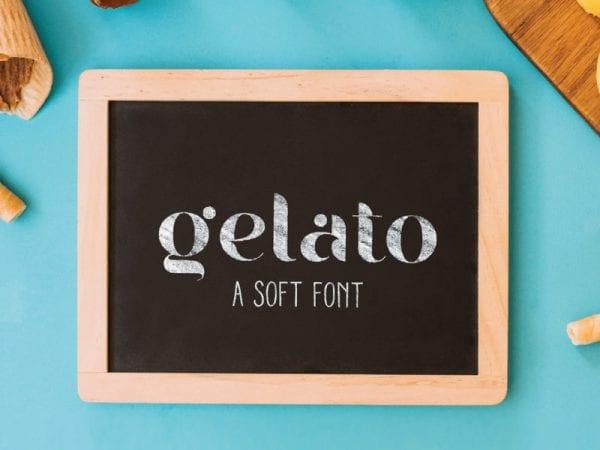 Gelato Free Unique Fonts
