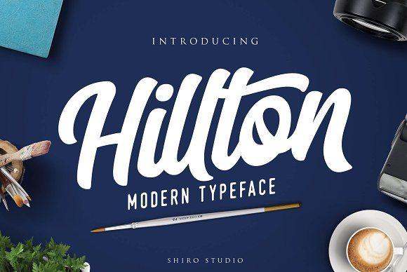 Hilton Handmade Script Font