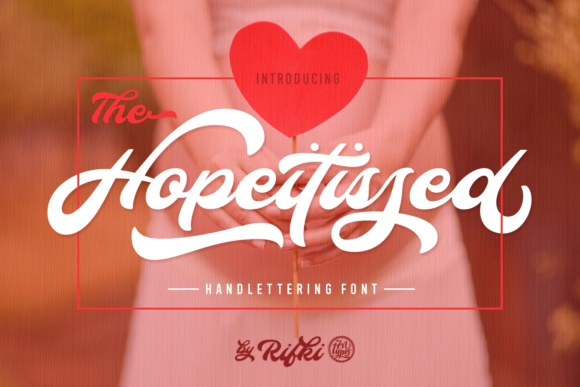 Hopeitissed Free Script Fonts