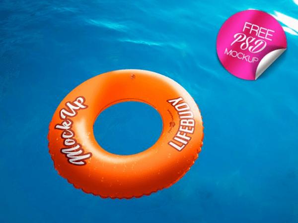 Lifebuoy Free PSD MockUps