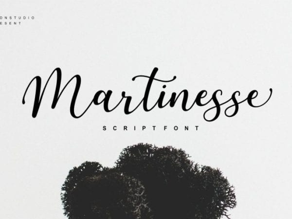 Martinesse Free Fresh Script Font