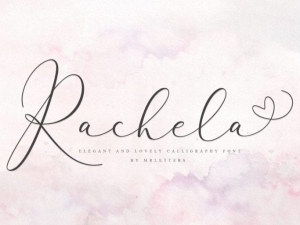 Rachela Calligraphy Script Font