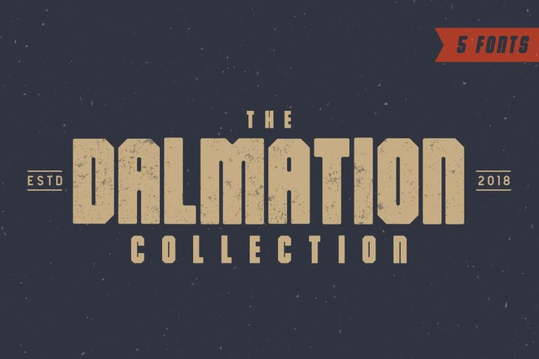 The Dalmation Free Vintage Fonts